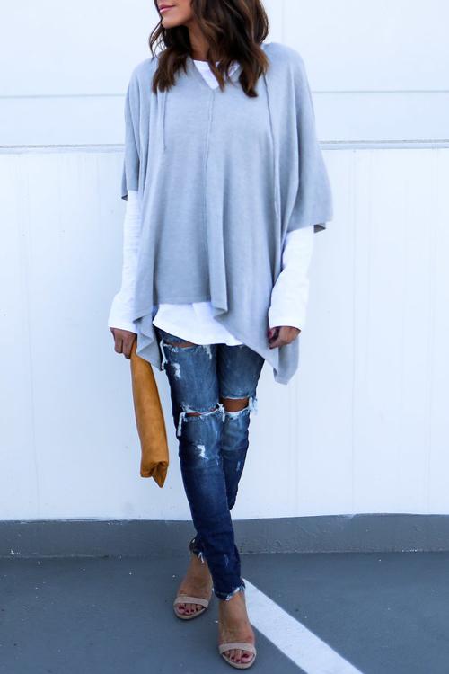 Casual Half Sleeves Asymmetrical Black Cotton Shirts<br>