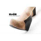 Оптовая Kvoll обувь удобная клинья Абрикос