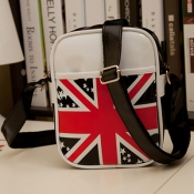 Fashion UK National Flag Print and Zipper Design B