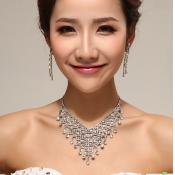 Fashion Crystal Wedding Jewelry Sets
