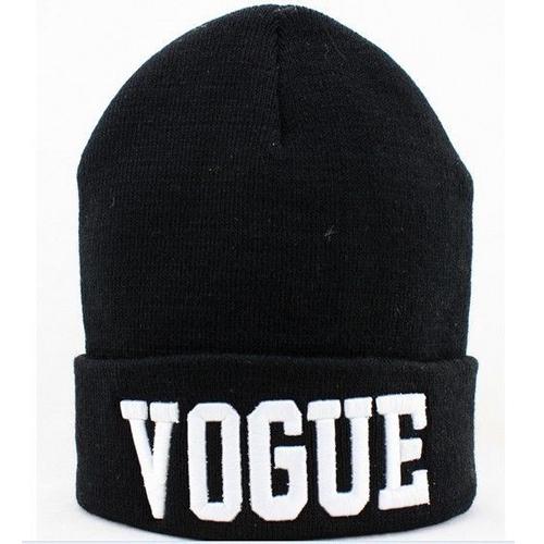 Cheap Casual White Letters Print Black Cotton Hat