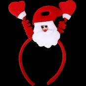Cheap Fashion Santa Claus Shaped Red Christmas Hea
