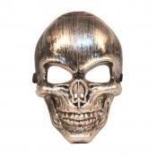 Fashion Skeleton Shaped Silver PVC Mask