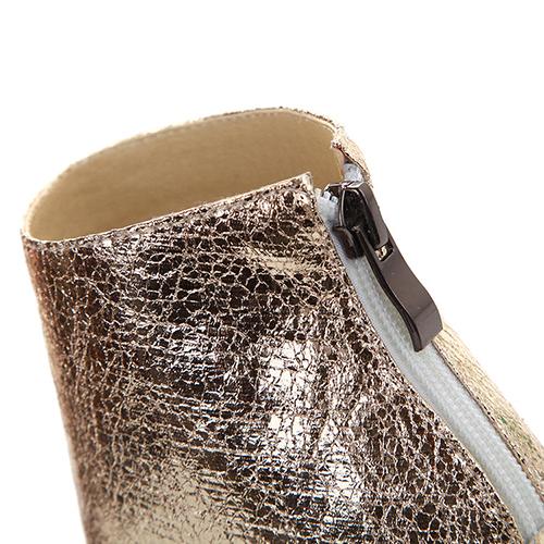 Модные Круглый Peep Toe Цвет Блока Лоскутная Stiletto Супер Высокий Каблук Зеленый PU Насосы