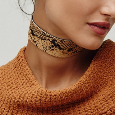 Fashion Leather Necklace