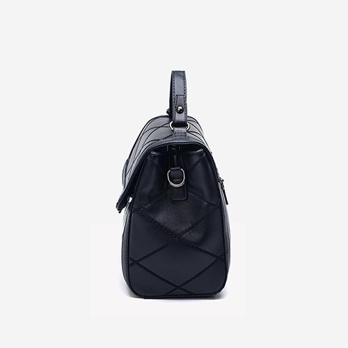 Fashion Black PU Hasp Shoulder Bags