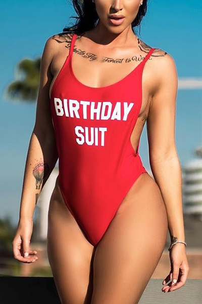 Nylon Letter One Pieces