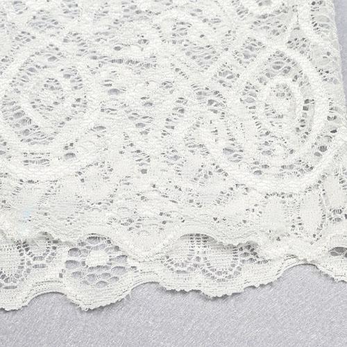 Sexy Deep V Neck Backless White Lace de uma peça de macacão magro