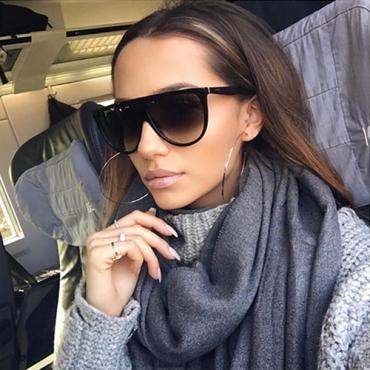 Euramerican Black PC Sunglasses