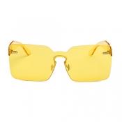 Fashion Yellow PC Sunglasses