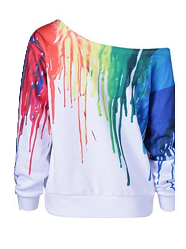 Lovely Cotton Blends Long Sleeve Regular Pullovers Sweats&Hoodies