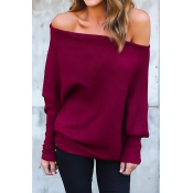 Lovely Polyester O neck Long Sleeve Regular Pullov