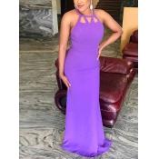 Платье с длинным рукавом из полиэстера