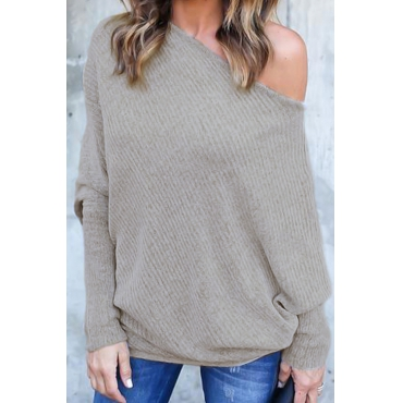 Love Trendy Bat Sleeves Sweaters