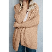 Warming Trend Hooded Pink Wool Coat