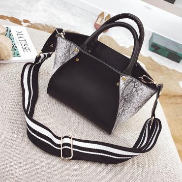 Euramerican Patchwork PU Clutches Bags