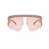 Reizende Art Und Weiseperle Trimmt Große Rahmenentwurfskaffee PC-Sonnenbrille