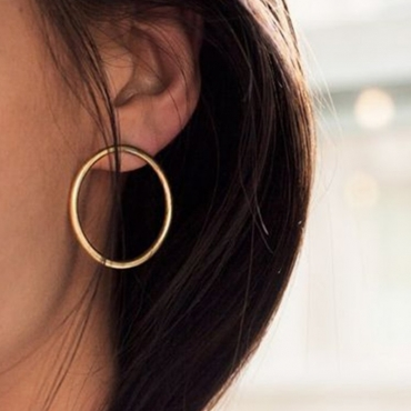 Lovely Fashion Gold Metal Earring