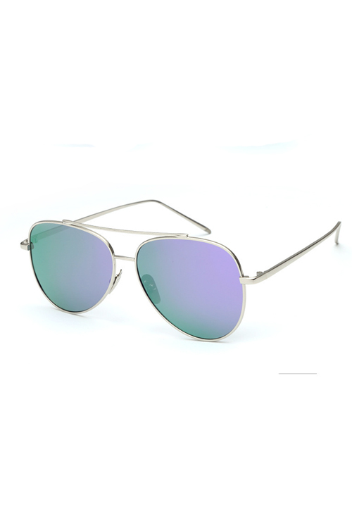 Lovely Fashion Hollow-out Purple PC Sunglasses