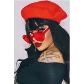 Lovely Red Plastic Sunglasses