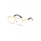 Lovely Trendy Gold Frame PC Sunglasses