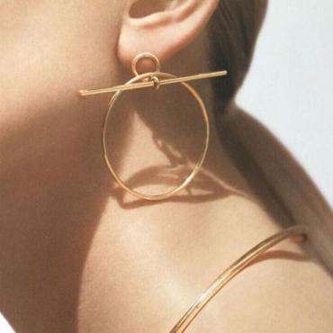 Lovely Fashion Metal Earring