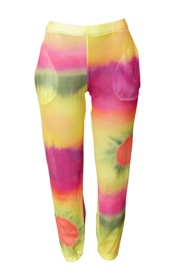 Lovely Trendy Printed Loose Pants
