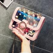 Lovely Fashion Transparency Pink Versipacks