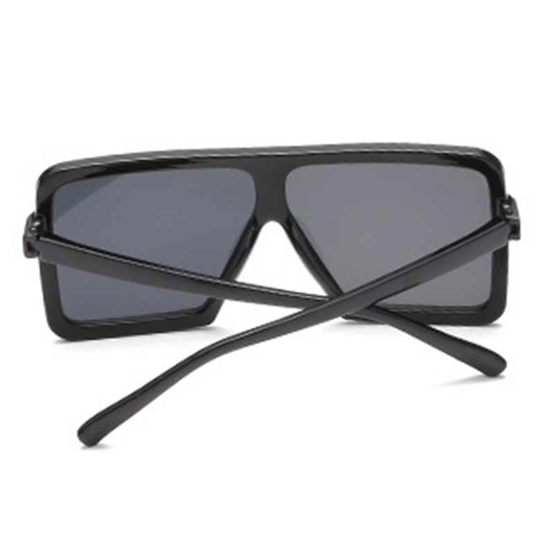 Lovely Fashion Square Frame Black Sunglasses
