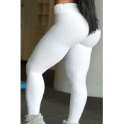 Lovely Euramerican High Waist  Skinny White Leggin