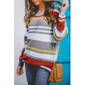 Lovely Acrylic O neck Long Sleeve Regular Pullover