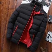 Lovely Euramerican Zipper Design Black Cotton Cott