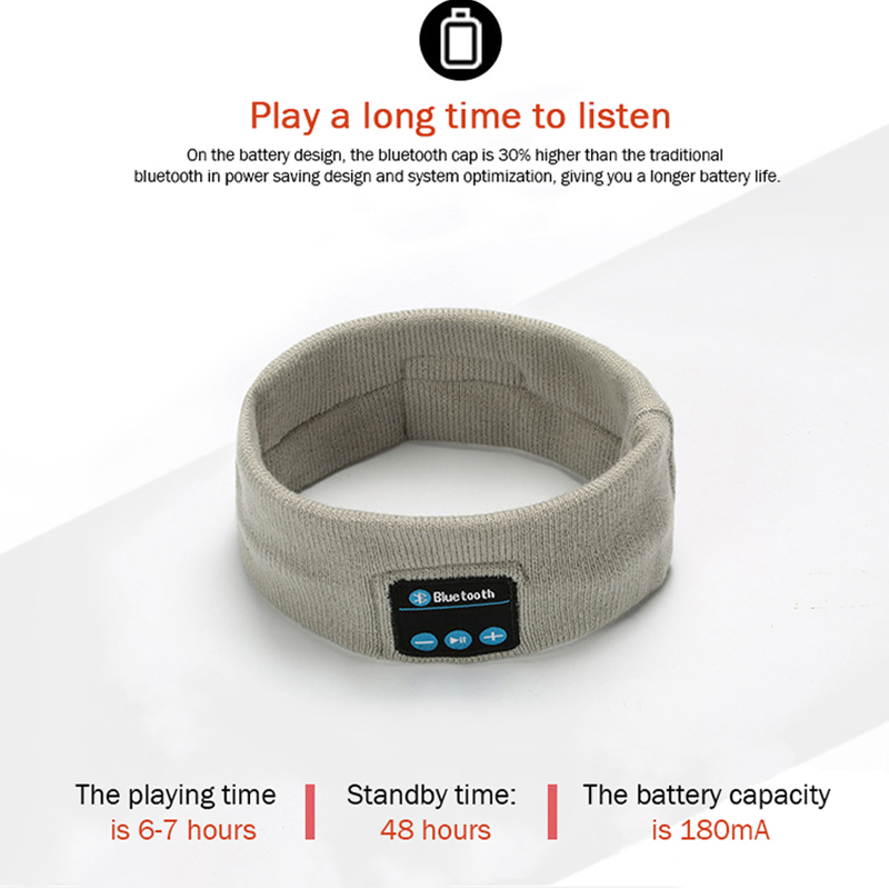 Lovely Wireless Bluetooth,Conversation Music,Knitted Sport Headband