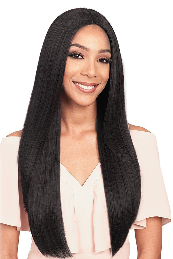 Lovely Elegant Black Long Straight Wigs
