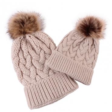 Lovely Fashionable Khaki Hats(Parent-child Cap)