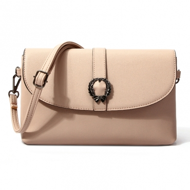 Lovely Elegant  Light Pink Crossbody Bag