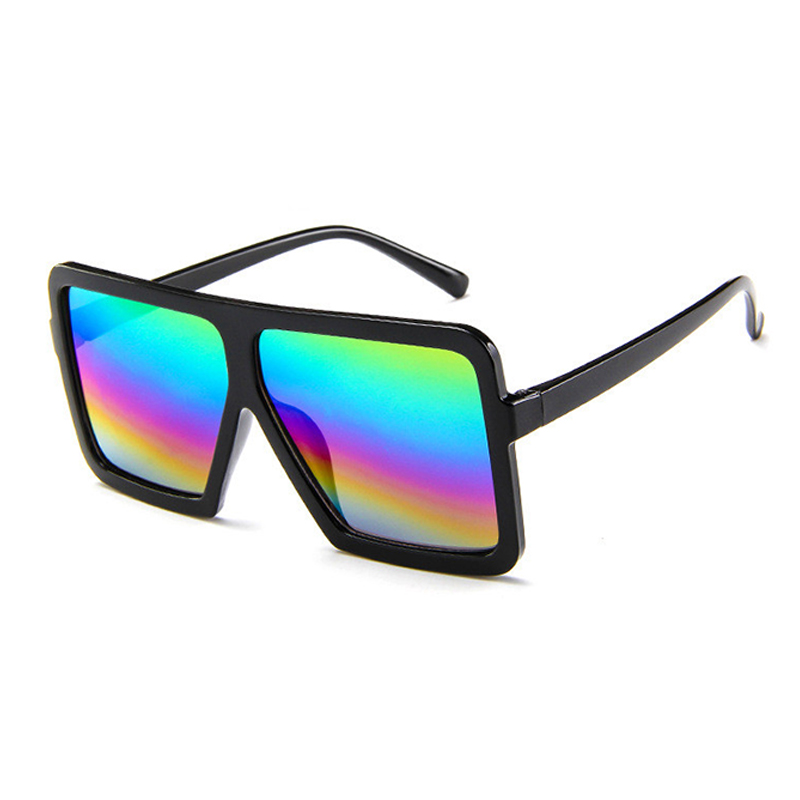 Lovely Stylish Square Frame Design PC Sunglasses