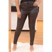 Lovely Black High Elastic Pants