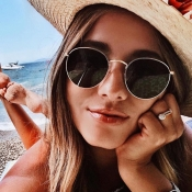 Lovely Fashion Grey PC Sunglasses