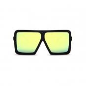 Óculos De Sol Bonitos Do PC Do Quadro Amarelo Do Projeto Do Quadro Quadrado