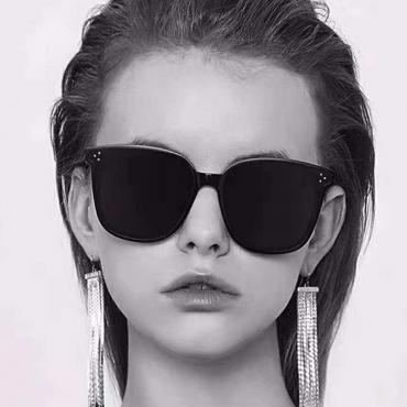 Lovely Trendy Black PC Sunglasses