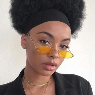 Lovely Fashion Yellow PC Sunglasses