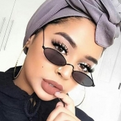 Lovely Fashion Black PC Sunglasses