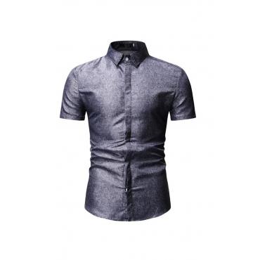 Lovely Work Black Cotton Polo Shirt