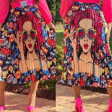 Lovely Trendy Ruffle Multicolor Ankle Length  Skirts