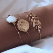 Lovely Stylish Gold Alloy Bracelet