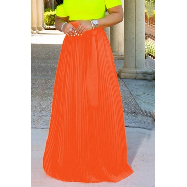 Lovely Trendy Bow-Tie Croci Floor Length Skirt