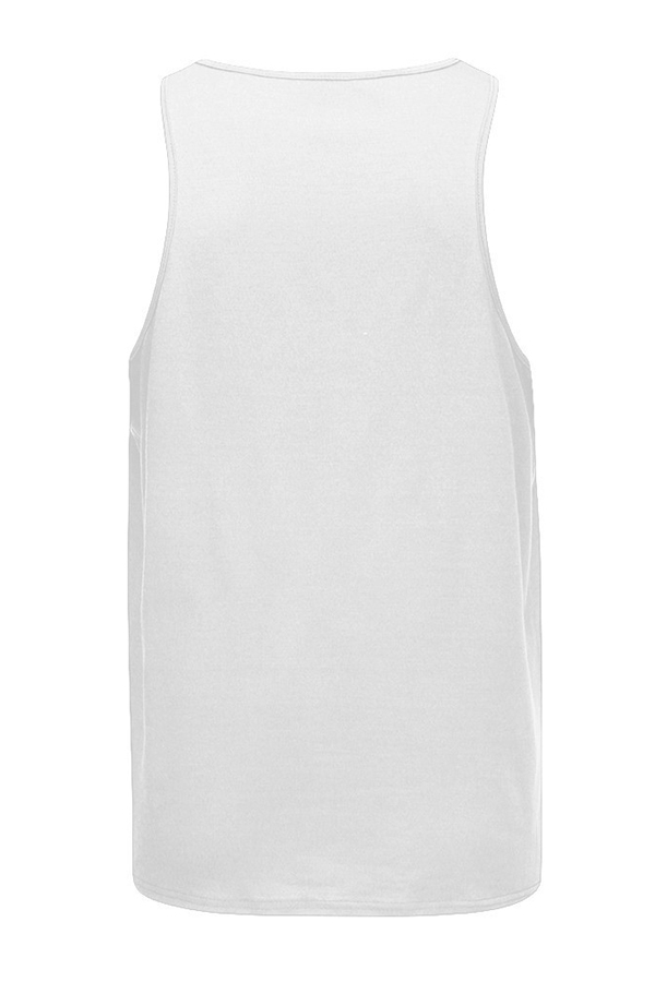 Lovely Casual Printed White Vest