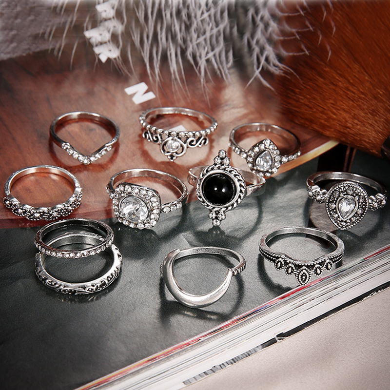Lovely Trendy Sliver Alloy Ring