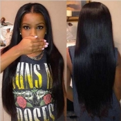 Lovely Trendy Straight And Long Black Wigs